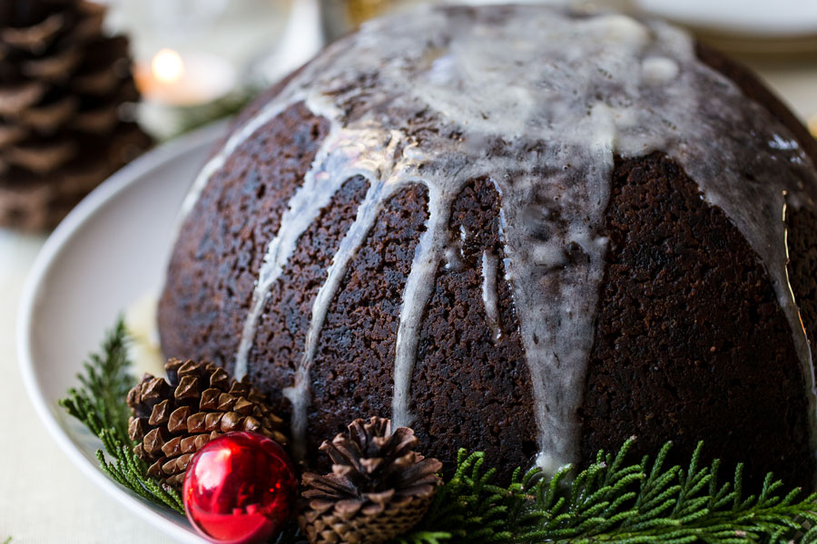 Auntie Ev's Plum Pudding