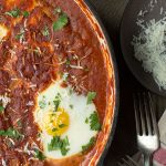 Falcone's Sauce with Poached Eggs