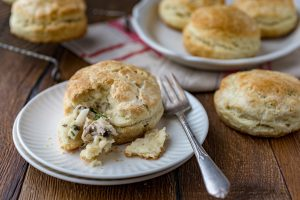 This is an image of Chicken Filled Biscuits recipe.