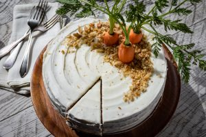 This is an image of easy carrot cake recipe