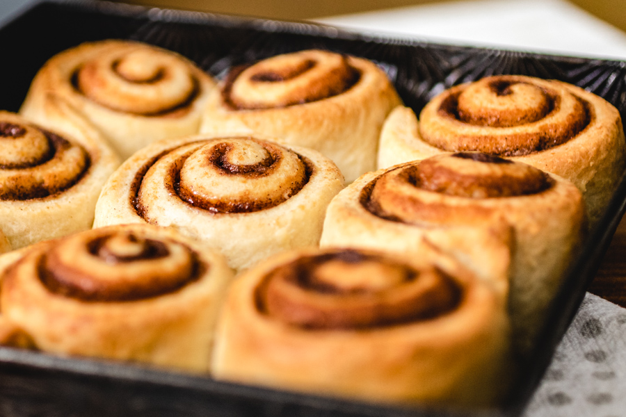 Easy Cinnamon Rolls The Heritage Cookbook Project