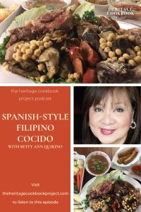 Spanish-style Filipino Cocido Pinterest Collage